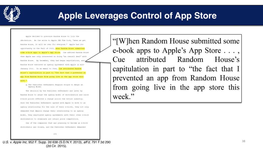 Внутренняя переписка топ-менеджеров Apple