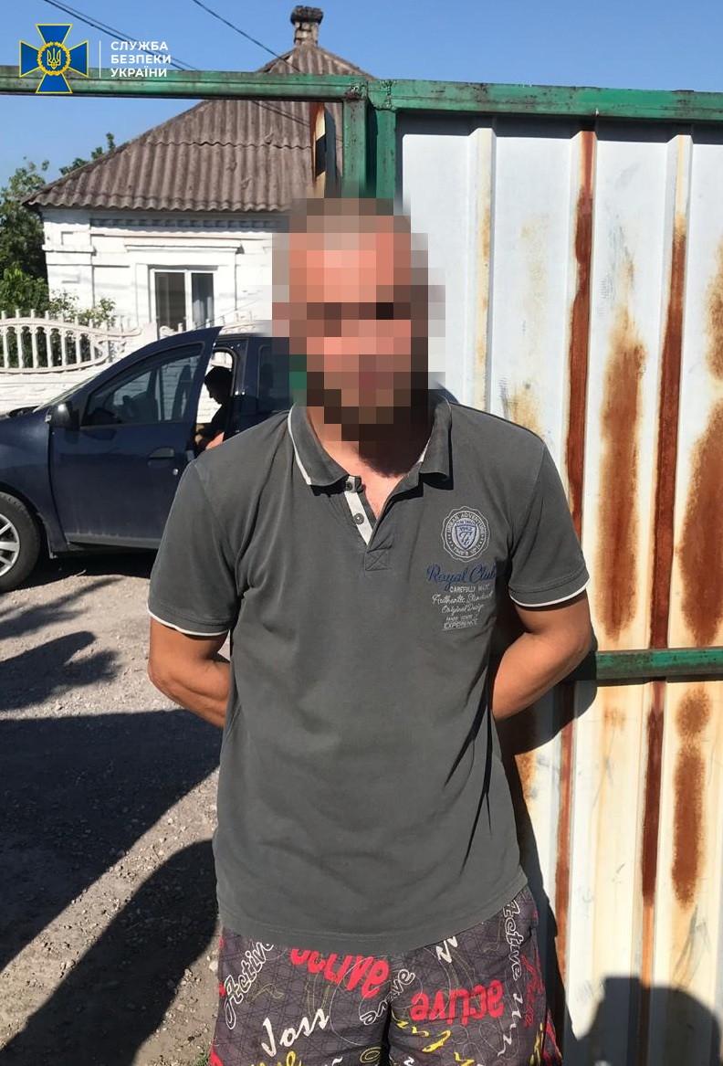 СБУ: Задержан пулеметчик боевиков, который воевал у Донецкого аэропорта