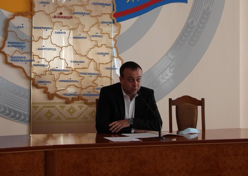 Сергей Борзов (фото - пресс-служба Винницкой ОГА)