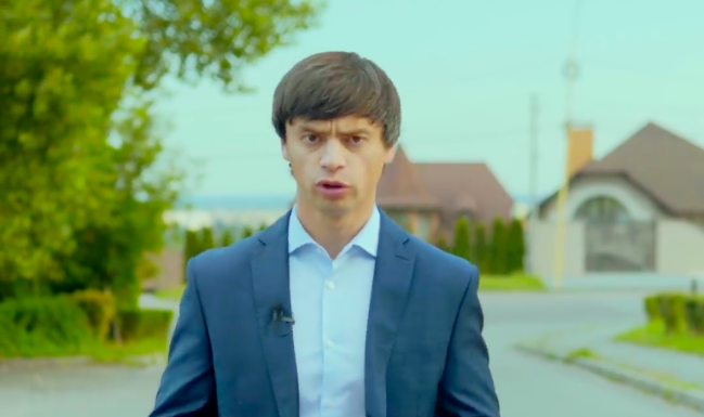Виктор Щадей (фото - скриншот видео)