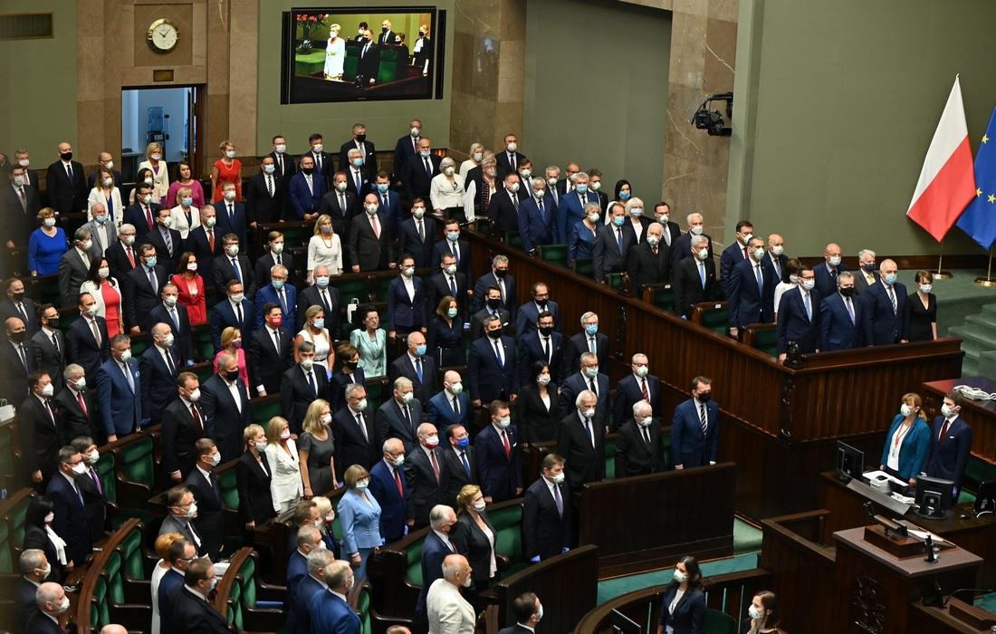 Присяга Дуды (фото - Cancelaria Sejmu)