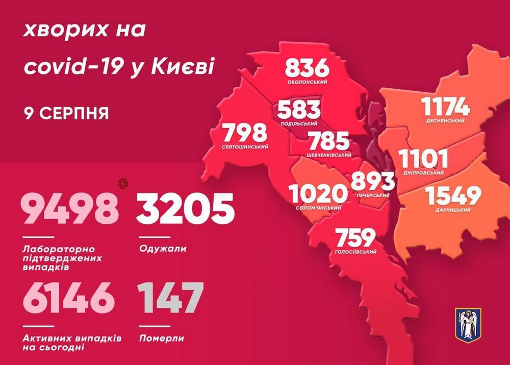 Карта заболеваемости Киев (t.mevitaliy_klitschko)