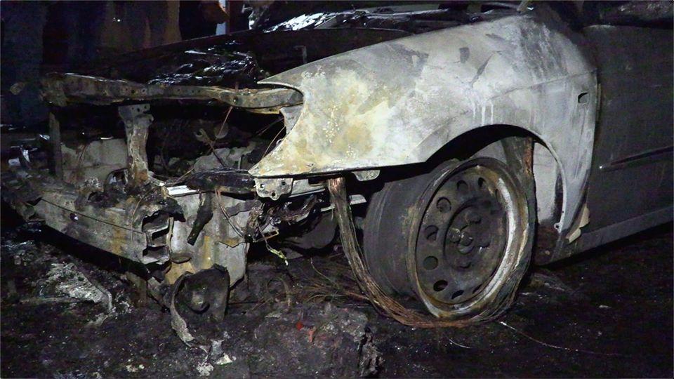 Сгоревшее авто Схем