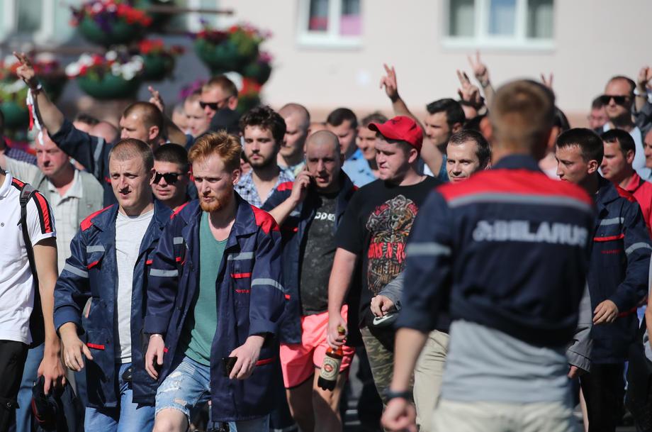 Страйки рабочих, фото: EPA.eu