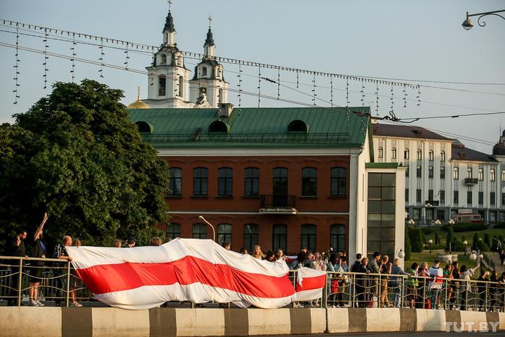 Акция Цепь покаяния в Минске