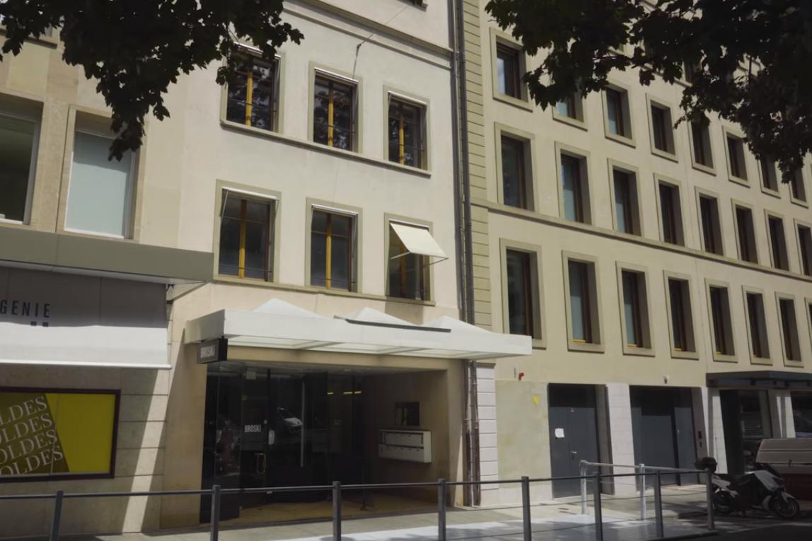 Офис Игоря Коломойского в Женеве. Скриншот из фильма Зірвати банк, Слідство.info