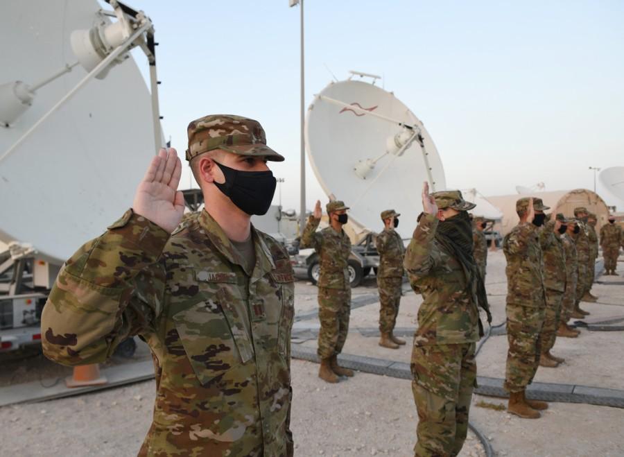 Космические войска США разместили на Аравийском полуострове