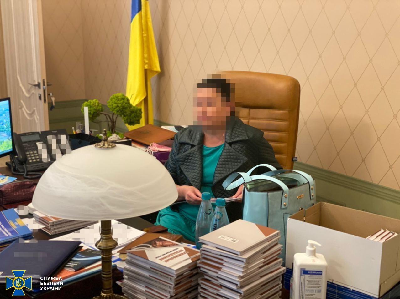 СБУ задержала главу Харьковского окружного админсуда на взятке