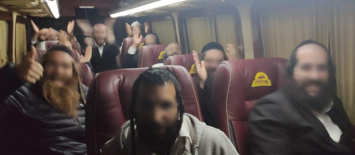 Задержание хасидов на госгранице