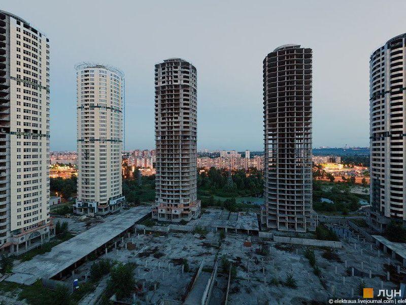 ЖК Днепровские башни, фото: Lun.ua