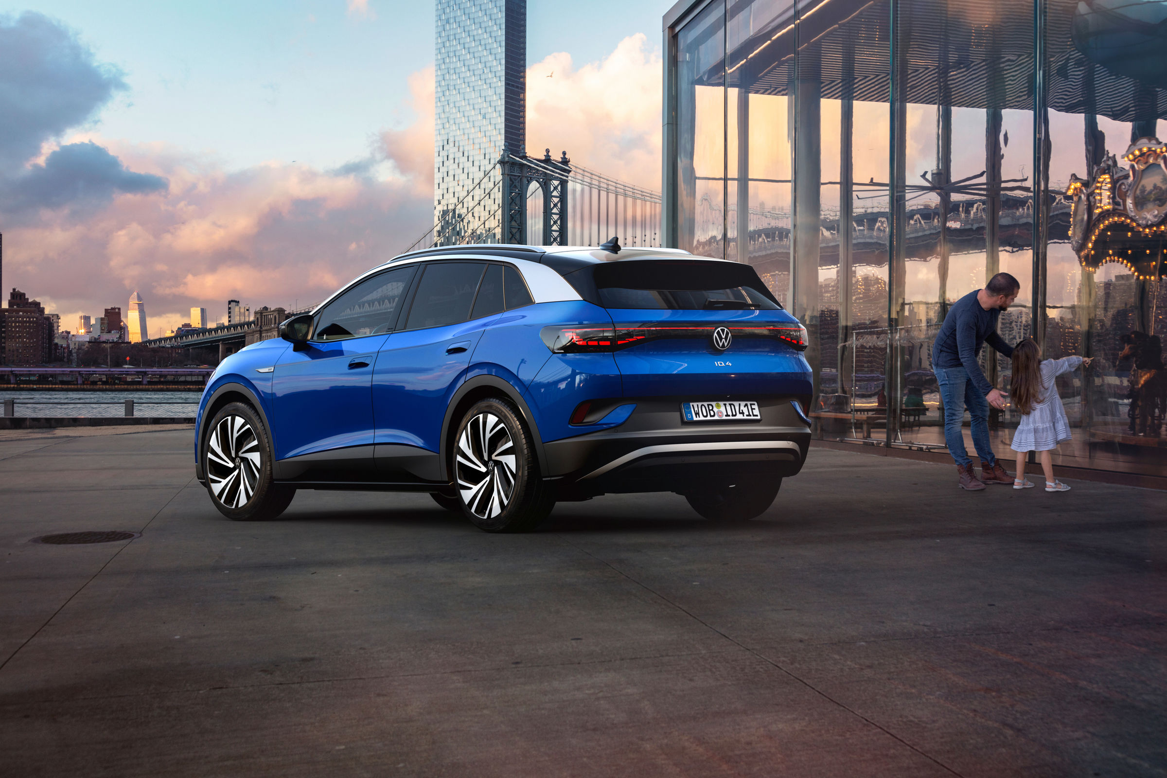 Volkswagen офіційно представив електропозашляховик: відео