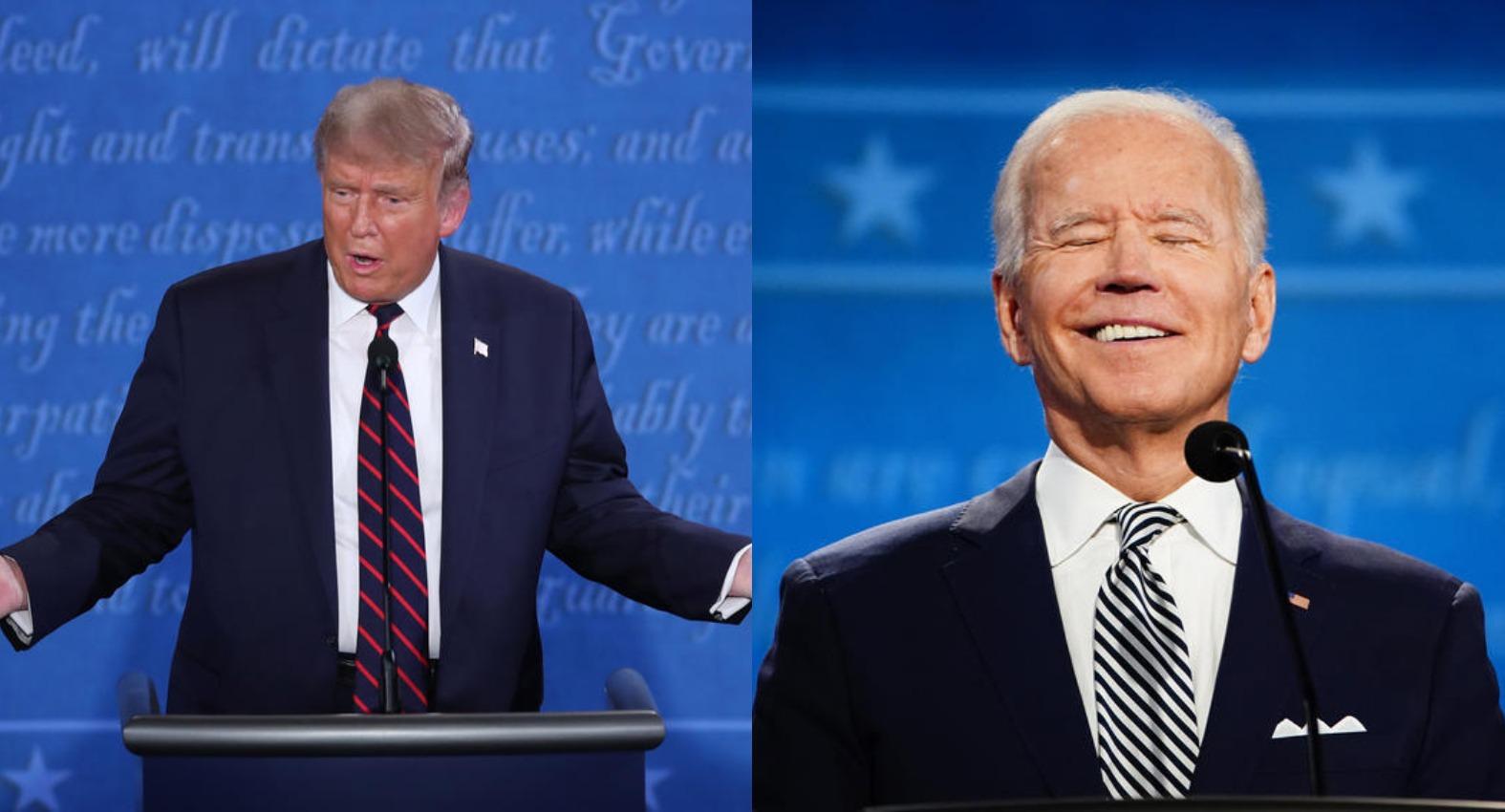 """""""Ты заткнешься, мужик?"""" Первые дебаты Трампа и Байдена: оскорбления, упреки и хаос"""