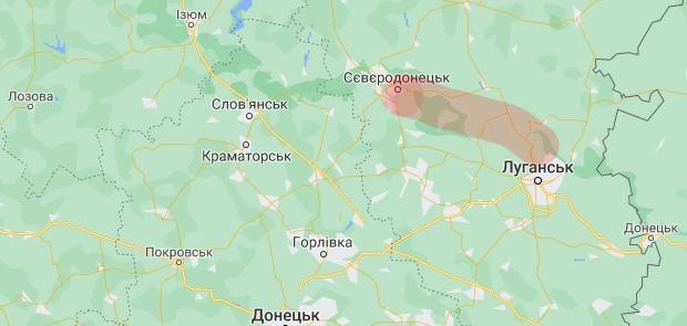 Военные назвали причину пожаров в Луганской области, у Зеленского также отреагировали