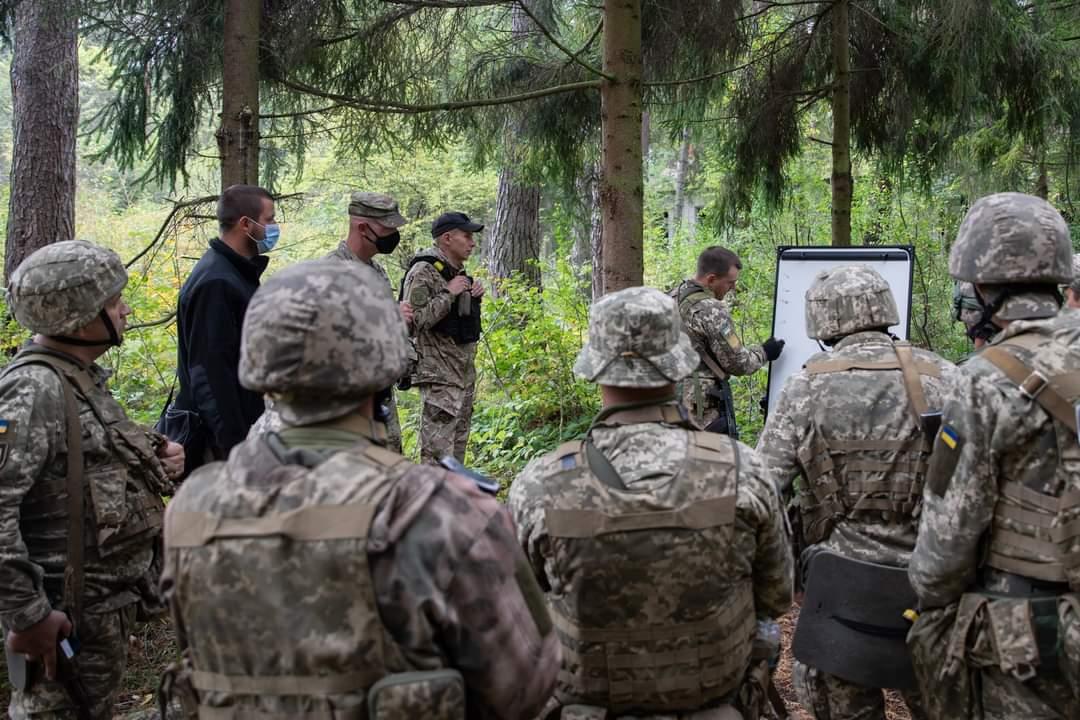 Учения военных США и ВСУ на Яворовском полигоне (Фото: Defense Flash News)