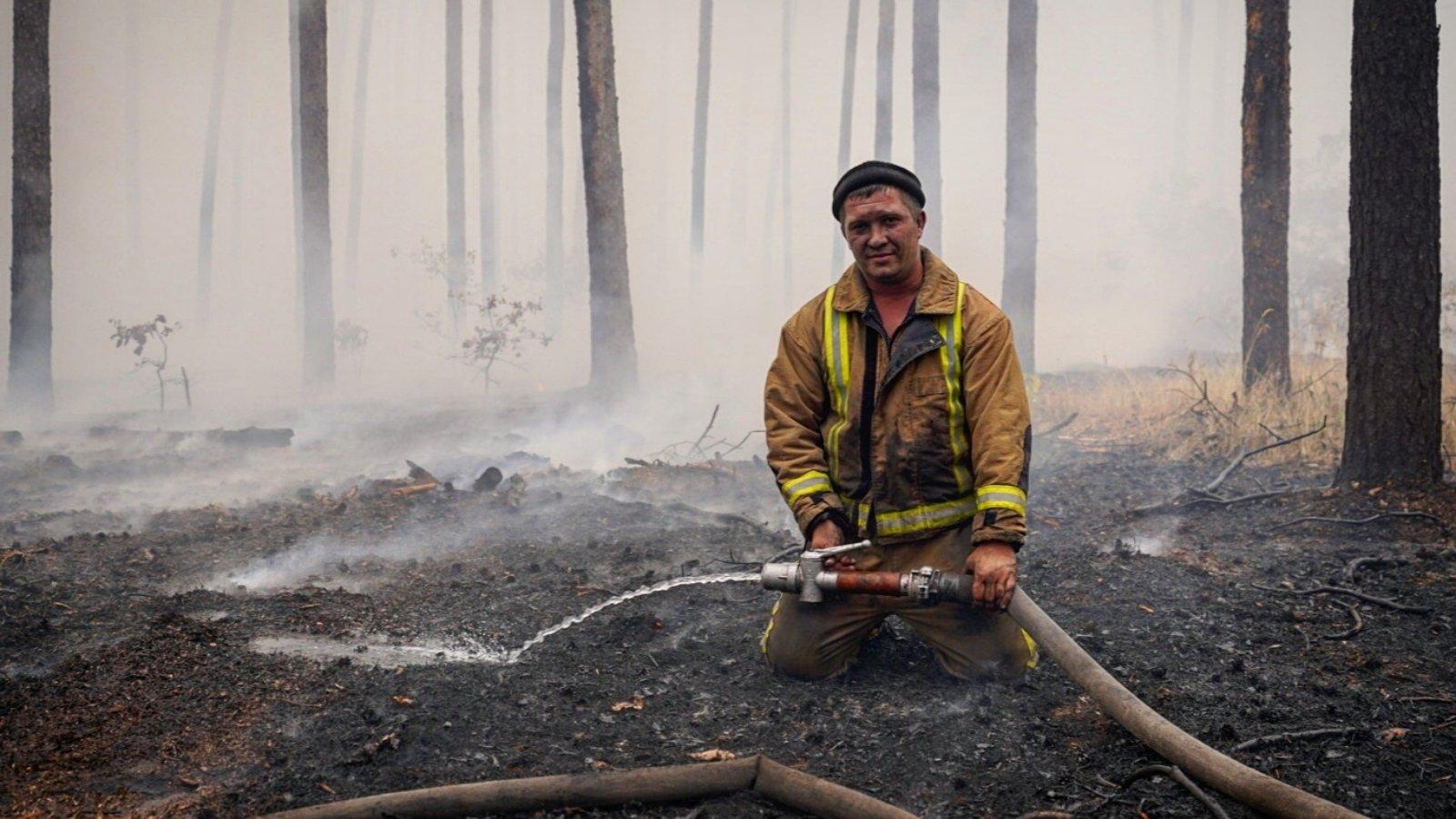 В Луганской области потушили почти все очаги возгорания, остался один – в Смоляниново