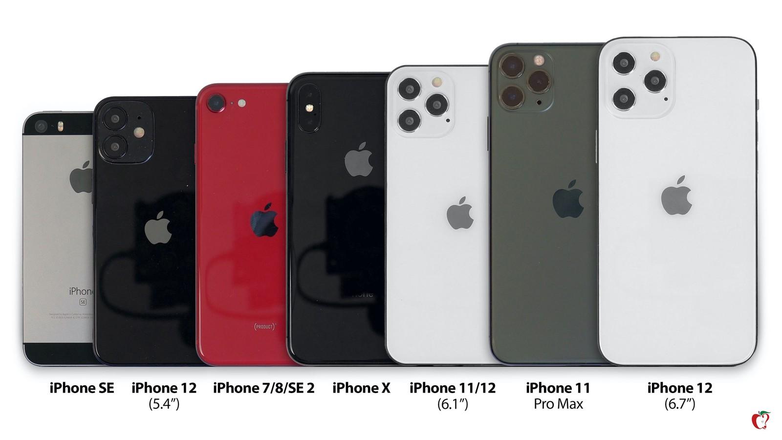 Предполагаемый внешний вид iPhone 12