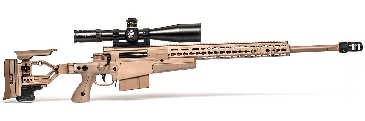 Снайперская винтовка AX338 (Фото: Accuracy International)