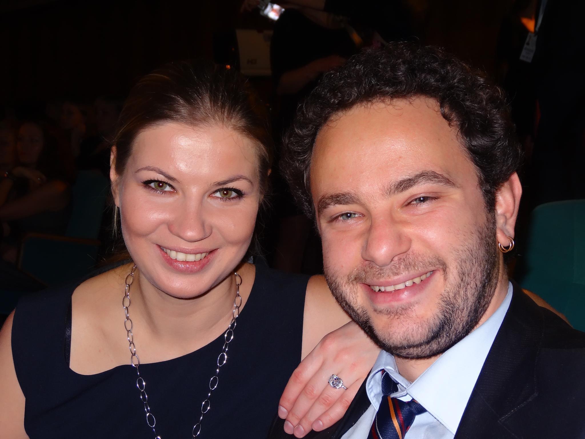 Олександр Дубінський з колишньою дружиною Лесею Цибко (фото – facebook/vitaliyermak)