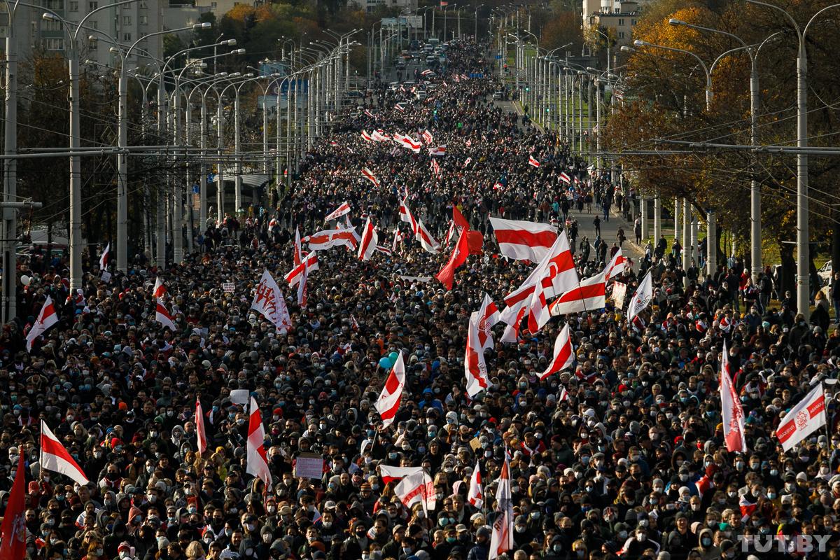 Более 240 задержанных. Как прошли вчерашние протесты в Беларуси – фото, видео
