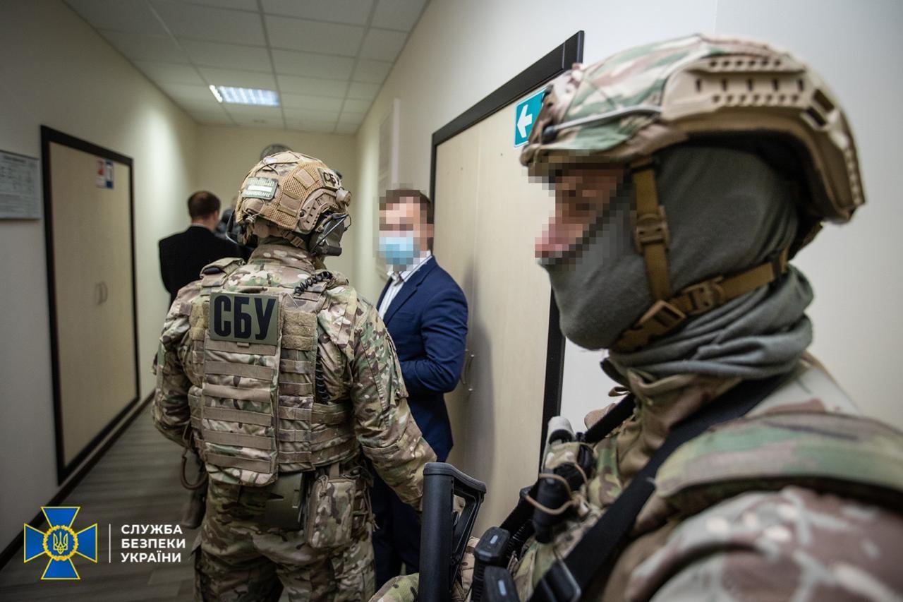 Обыски СБУ в ГАСИ, фото: пресс-служба СБУ