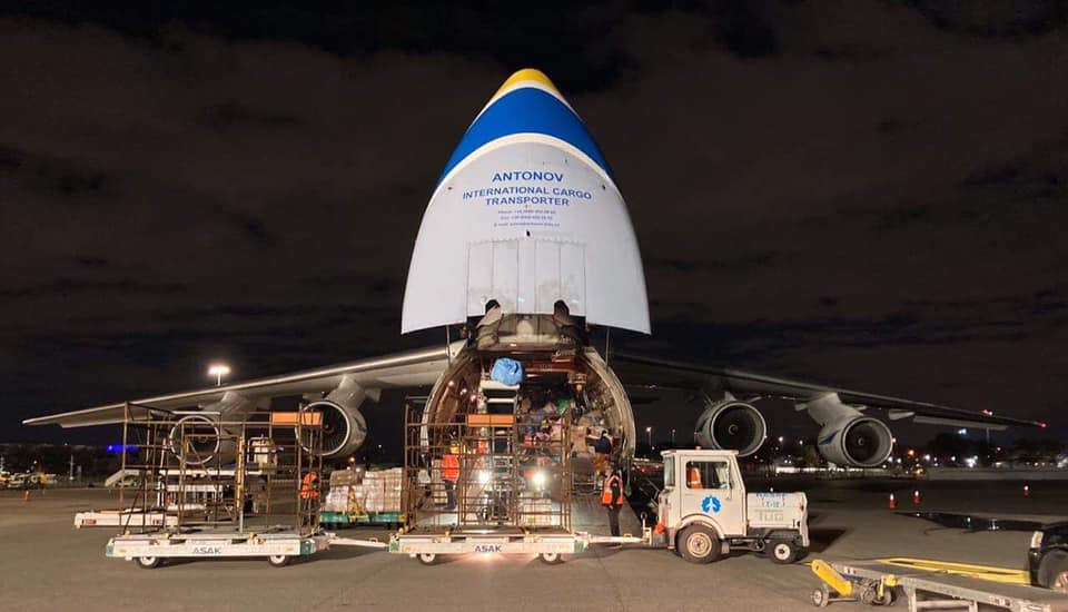 """Укрпошта запускает чартерные рейсы в США. Уже отправлен первый """"Руслан"""": фото"""