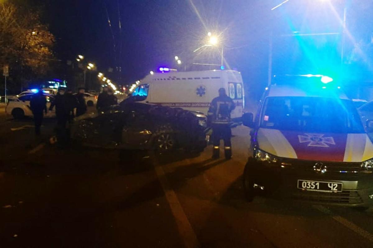 Пять авто попали в ДТП в Днепре