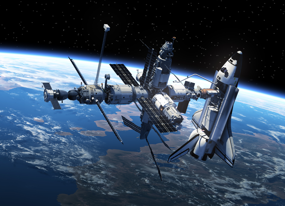 Международная космическая станция, фото: Depositphotos.com