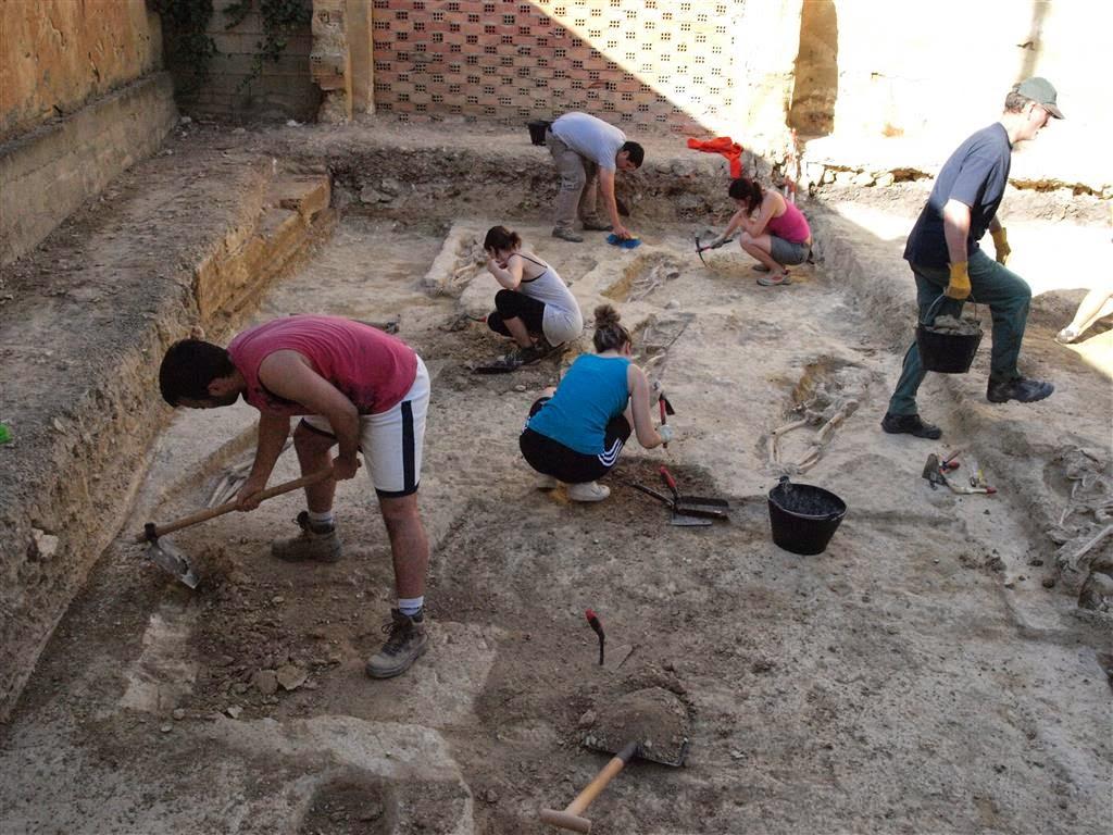 Раскопки в Испании (Фото: El Patiaz Asociacion Cultural)