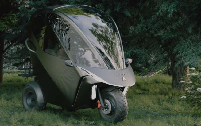 Канадский концерн представил линейку футуристического электротранспорта: фото, видео