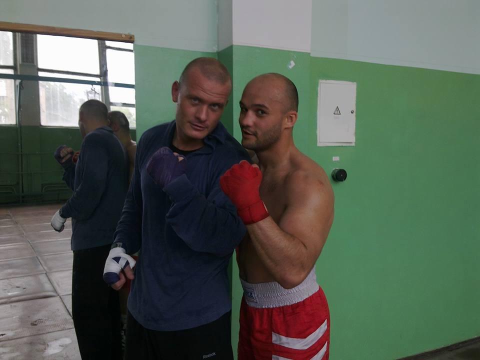 Вячеслав Узелков и Виталий Невеселый (фото – Facebook Невеселого)