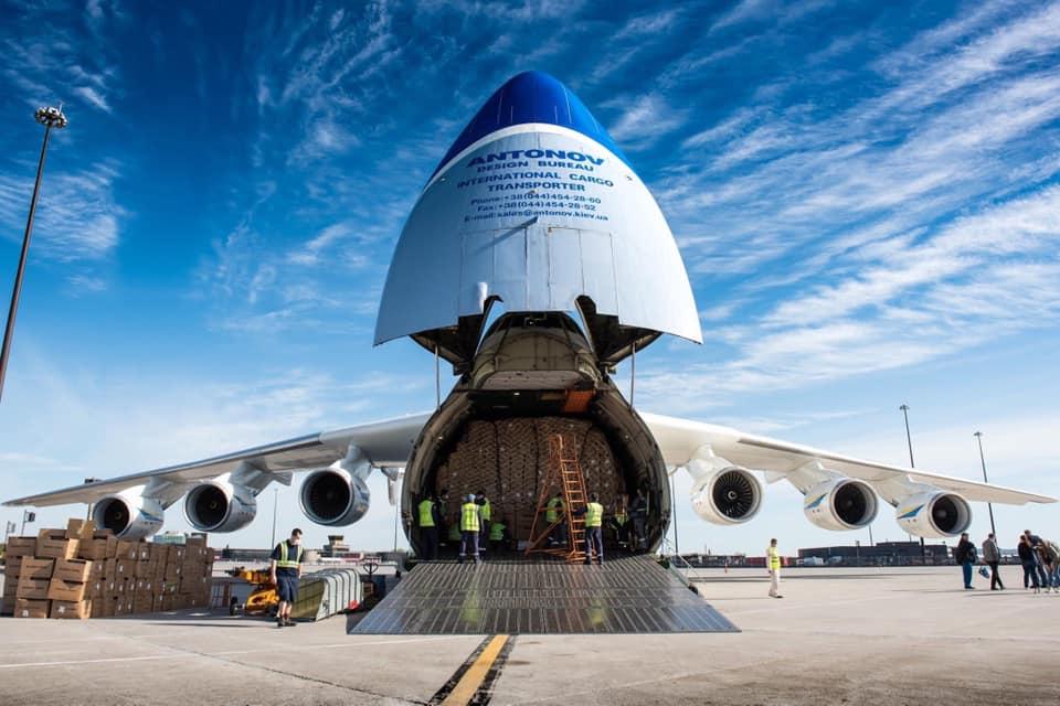 АН-225 Мрія повертається до обслуговування комерційних рейсів: фото