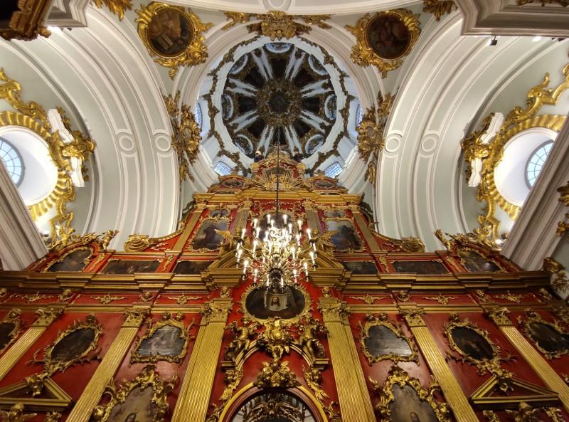 Интерьеры реставрированной Андреевской церкви (Фото: пресс-служба Офиса президента)