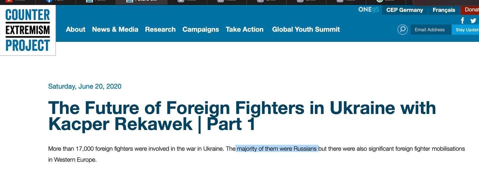 Как 35 участников войны на Донбассе превратились в 17 000 американских праворадикалов