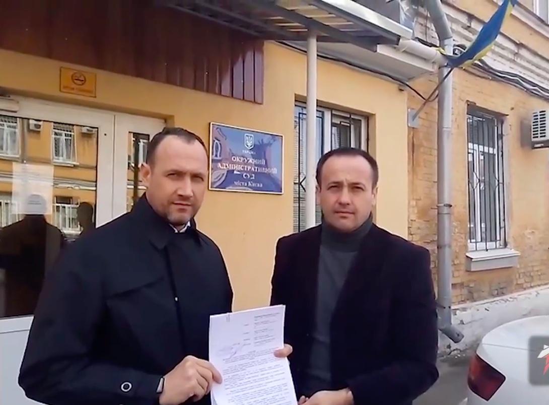Андрей Карпенко и Сергей Доротич (фото – скриншот видео)