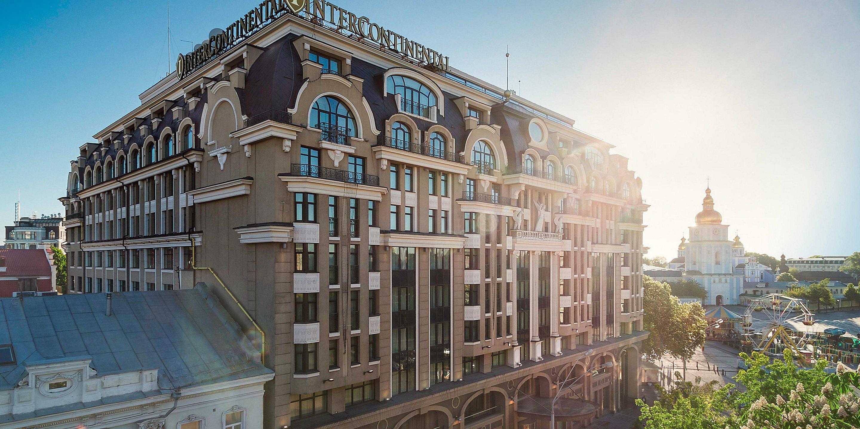 5* отель Intercontinental Kyiv, официальный сайт отеля