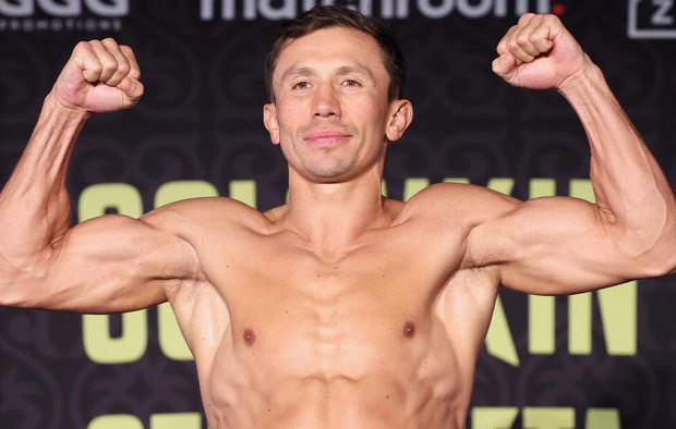 Геннадий Головкин (фото — пресс-служба Matchroom Boxing)