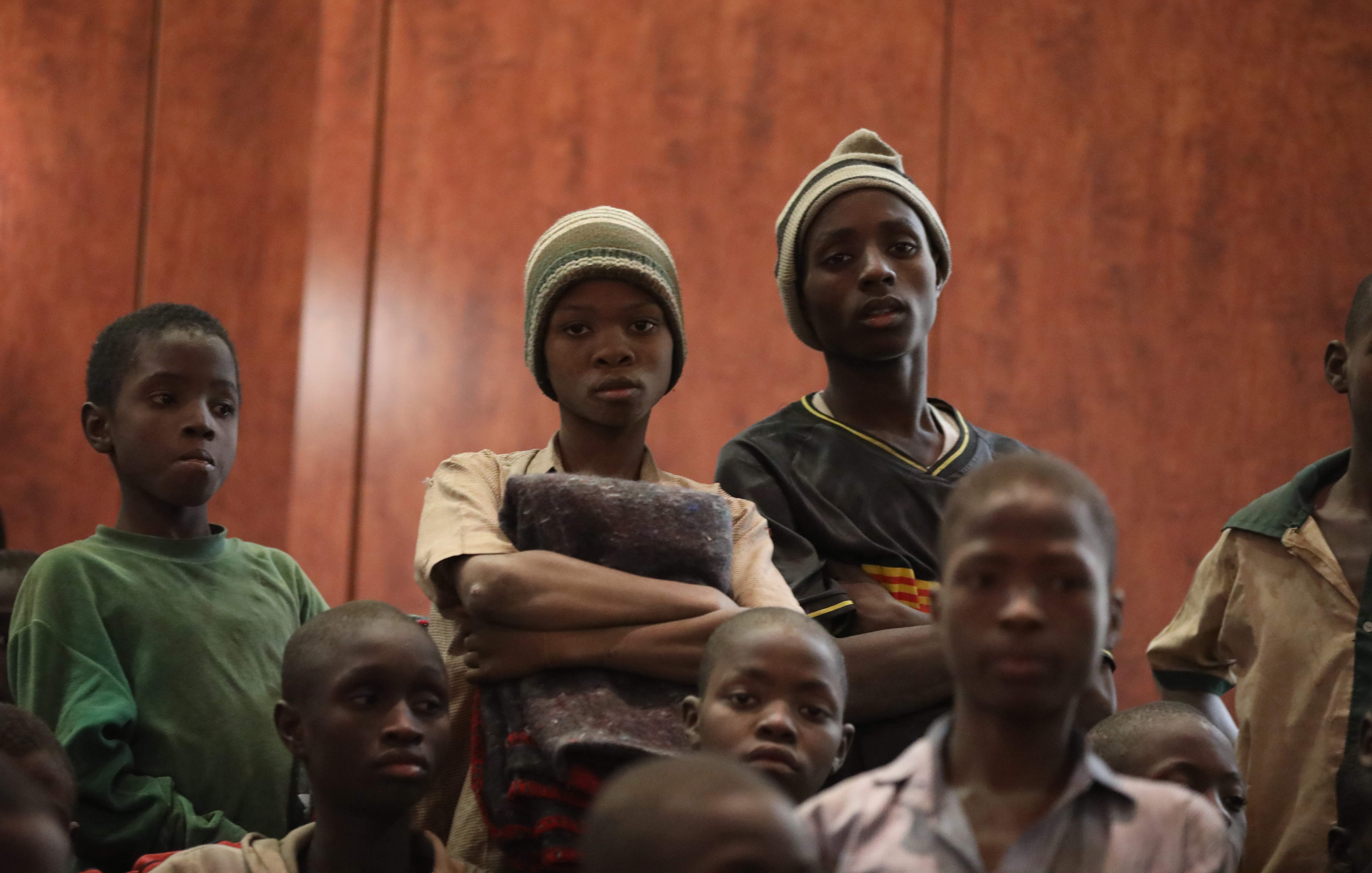 Спасенные нигерийские школьники (Фото: EPA-EFE/STRINGER)