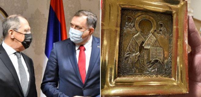 Подаренная Лаврову икона стоит 12,5 млн евро и хранилась в банке – BN TV