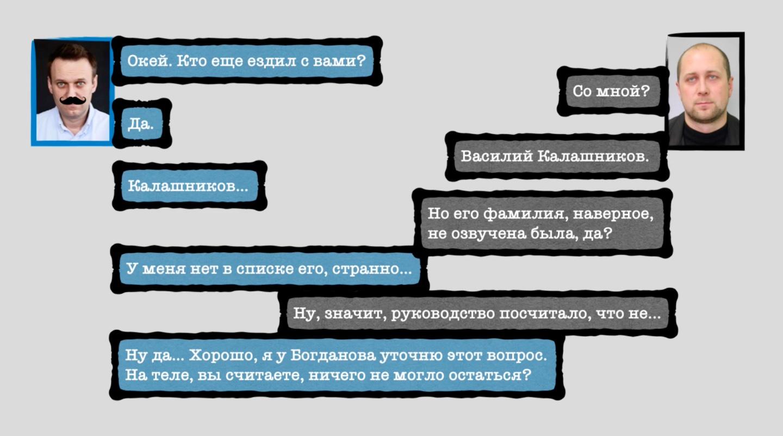 Расшифровка разговора Навального с Кудрявцевым (фото – скриншот видео)