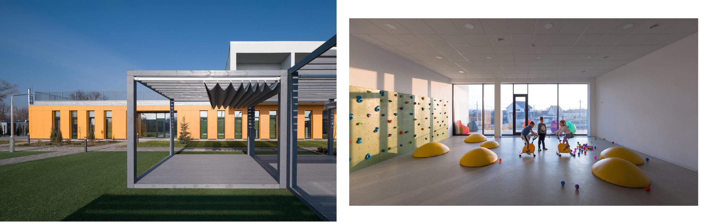 Детский сад №2, с. Обуховка, коллаж LIGA.net, фото: Valentirov&Partners