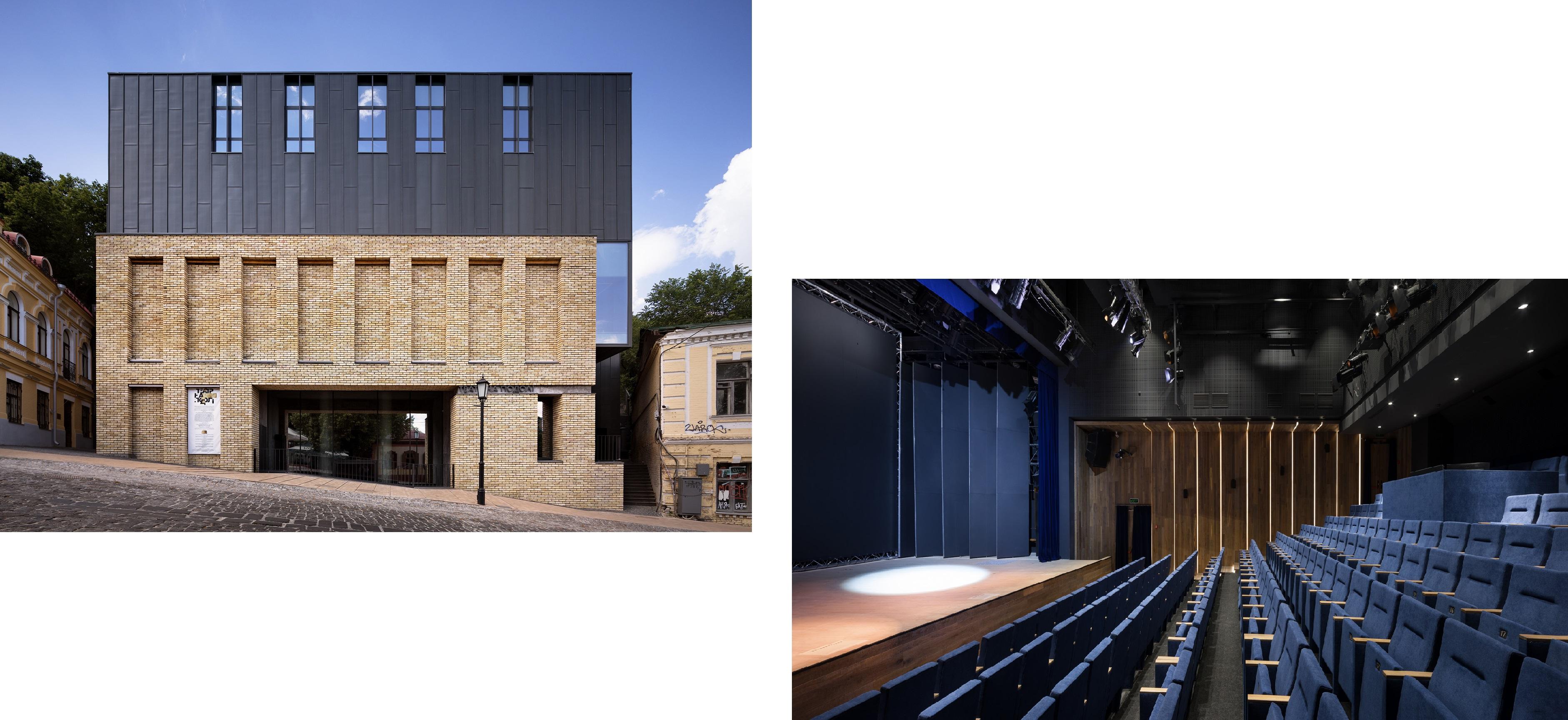Театр на Подоле, коллаж LIGA.net, фото: Drozdov & Partners
