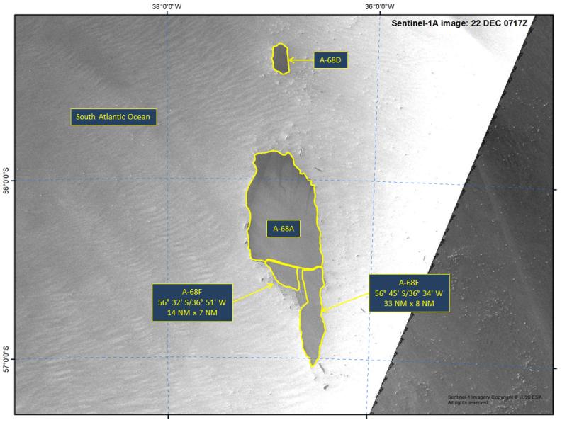 Раскололся самый большой в мире айсберг – фото со спутника