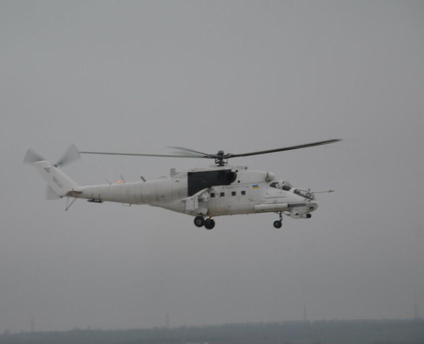Мотор Січ розпочала випробування лопатей для бойових вертольотів: фото