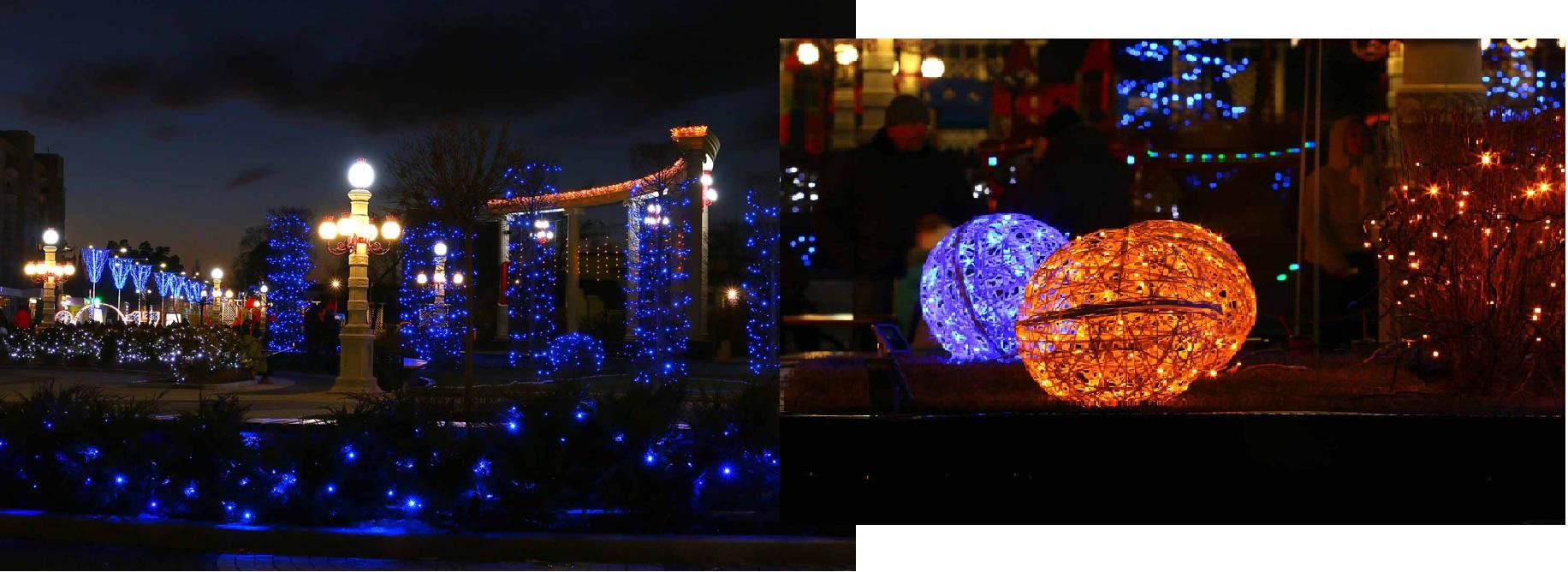 Центральная площадь в Ирпени, коллаж Liga.net, фото: Light Point
