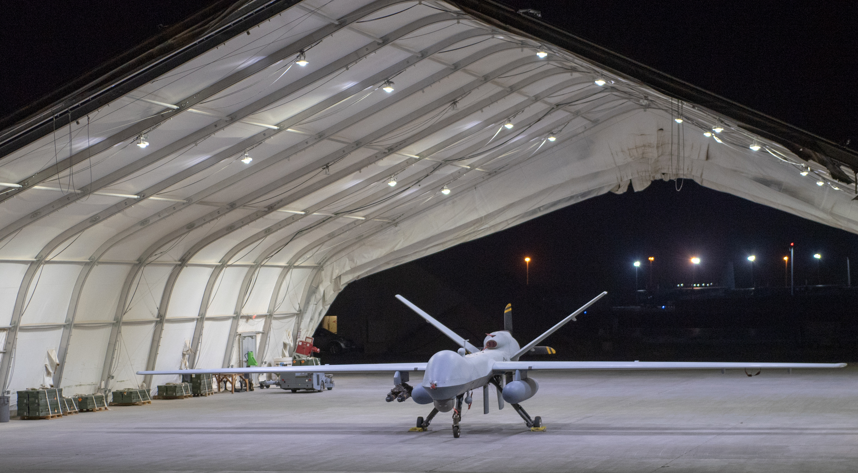 Ударный дрон MQ-9 Reaper (фото — US Air Force, Michael Mason)