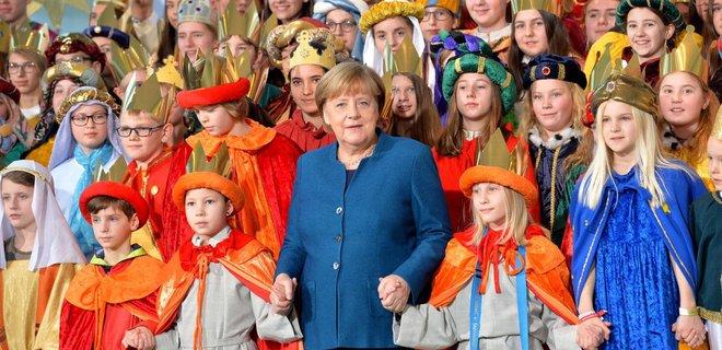 Німецькі колядники зібрали гроші для українських дітей