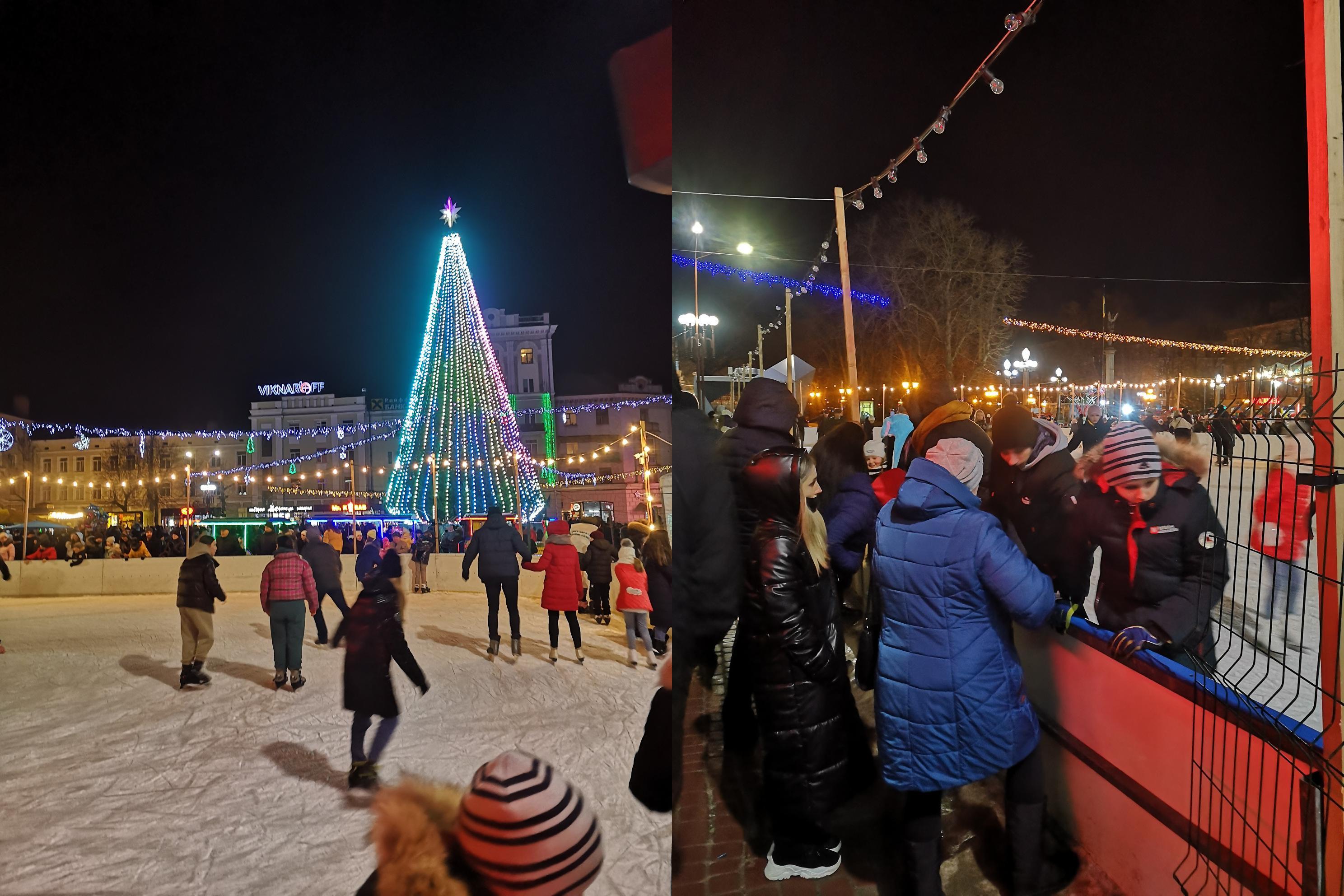 Выходные в Тернополе (фото – Ирина Андрейцив/LIGA.net)