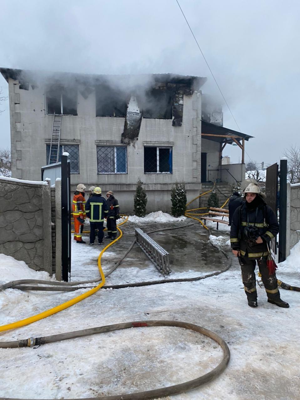 В Харькове – пожар в частном пансионате для престарелых: погибли 15 человек