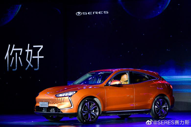 В Китае презентовали электромобиль на платформе Huawei: фото