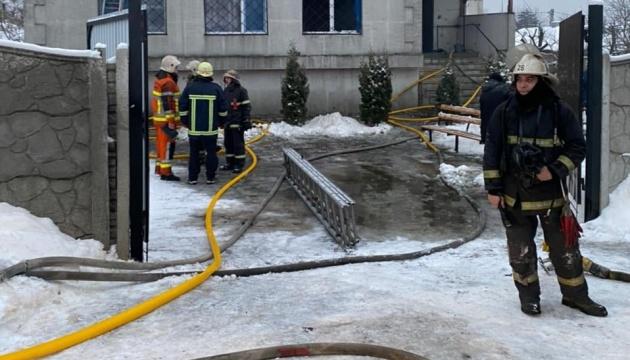 Пожар в частном доме престарелых